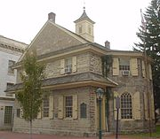 Chester Courthouse in Pennsylvania was built in 1724.