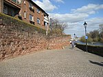Chester city walls beside River Dee.jpg