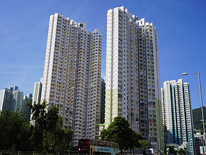 Public housing estates in Cheung Sha Wan - New Cheung Sha Wan Estate, completed 2013