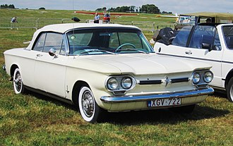 Chevrolet Corvair - 1962 Chevrolet Corvair Monza convertible