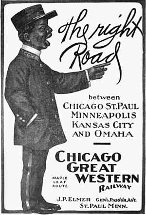 Chicago Great Western Railway - 1907 Chicago Great Western ad.