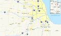 Interstates in Chicago