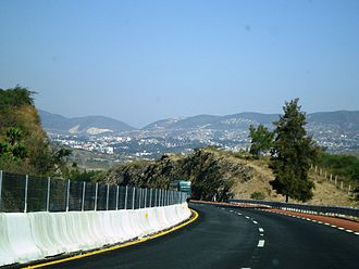 Mexican Federal Highway 95 - Chilpancingo as seen from Federal Highway 95