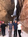 Chris Murphy and the Romney's in Petra.jpg