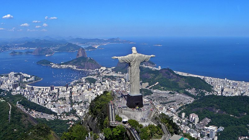 Christ on Corcovado mountain,Brazil