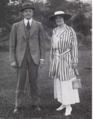 Christy and Jane Mathewson photograph, circa 1916.png