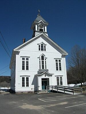 New Boston, New Hampshire - Image: Church in New Boston, New Hampshire