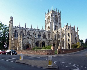 Grade I listed churches in the East Riding of Yorkshire - St Mary's Church, Beverley