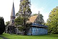 Church of St Andrew, Nuthurst, West Sussex - from the southeast.jpg