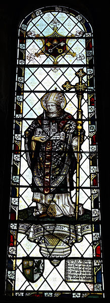 File:Church of St Mary the Virgin, Shipley, West Sussex, England ~ interior stained window 03.JPG