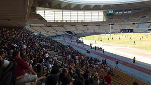 Estadio de La Cartuja - South stand from the East stand