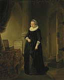 Circle of Rembrandt - A Young Woman in an Interior d5567068g.jpg
