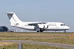Cityjet, British Aerospace Avro RJ85, EI-RJI - CDG (21379739364).jpg