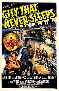 <i>City That Never Sleeps</i> 1953 film by John H. Auer
