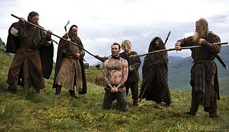 Valhalla Rising (film) - Scene with Mads Mikkelsen