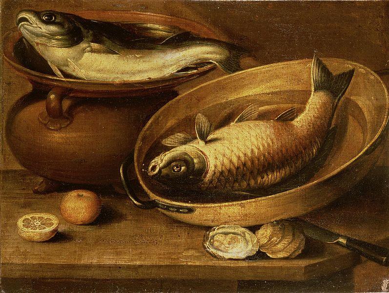 File:Clara Peeters - Still Life of Fish and Lemons.jpg