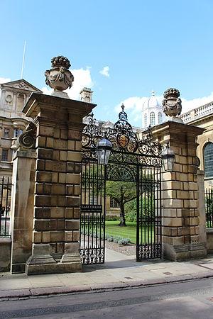 Clare College, Cambridge - Clare College Gate