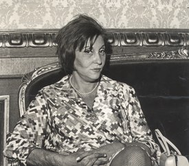 Clarice Lispector (1972) Courtesy of the Brazilian National Archives