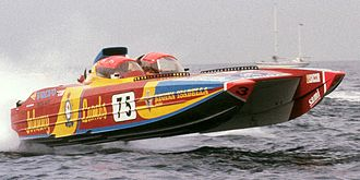 Offshore powerboat racing - Class1 offshore powerboat
