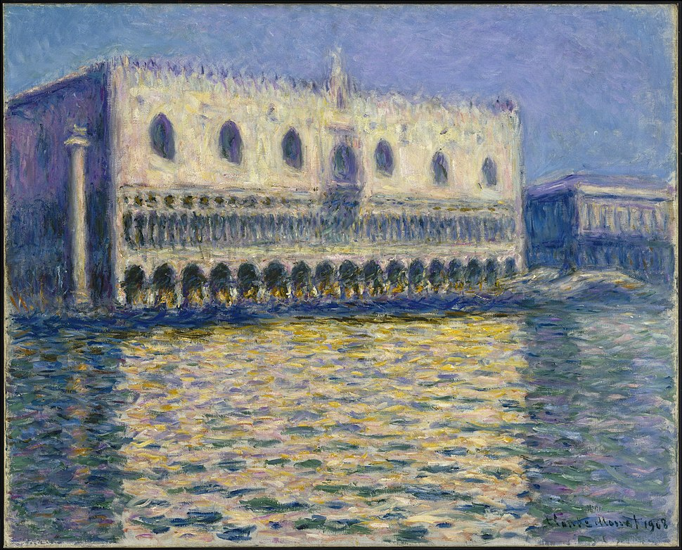 Claude Monet - The Doges Palace (Le Palais ducal) - Google Art Project