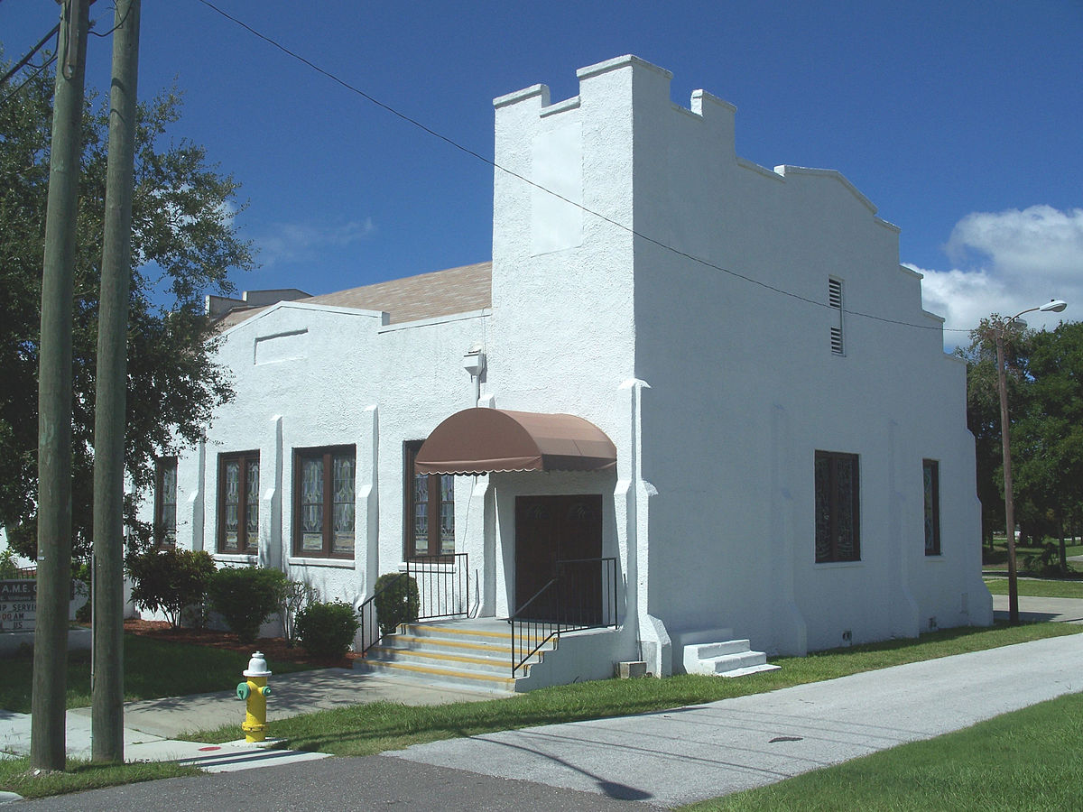 Charming Mt Olive Ame Church #1: 1200px-Clearwater_Mt_Olive_AME_church02.jpg