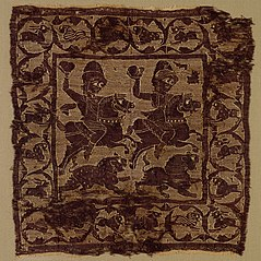 Ornamental Square from a Tunic