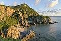 Cliffs at Chishi observatory, Zamami.jpg