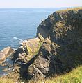 Cliffs at Hudder Cove - geograph.org.uk - 35172.jpg