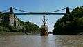Clifton Suspension Bridge wth sv Matthew © Shawn Spencer-Smith.jpg