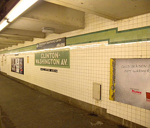 Clinton–Washington Avenues (IND Fulton Street Line) - Platform
