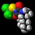 Clodantoin 3D spacefill.png