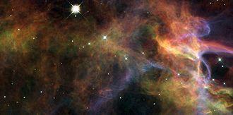 Cygnus Loop - Image: Close up Veil Nebula