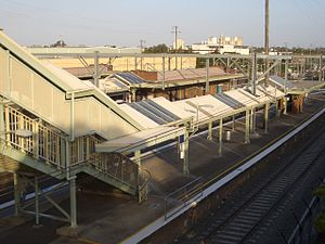 Clyde, New South Wales - Clyde railway station