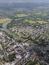 River Thames   Wikipedia The Thames passing through the London Borough of Richmond upon Thames