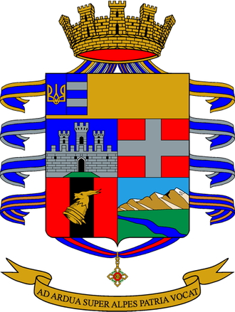 9th Alpini Regiment - Regimental coat of arms