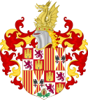 Coat of Arms of Ferdinand II of Aragon (1492-1504).svg