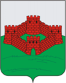 Coat of Arms of Gorodishe (Penza oblast).png