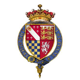 Thomas Howard, 21st Earl of Arundel - Arms of Sir Thomas Howard, 21st Earl of Arundel, KG