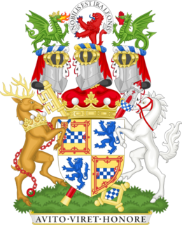 Marquess of Bute Scottish title of nobility