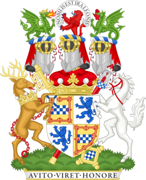 Marquess of Bute - Image: Coat of arms of the marquess of Bute