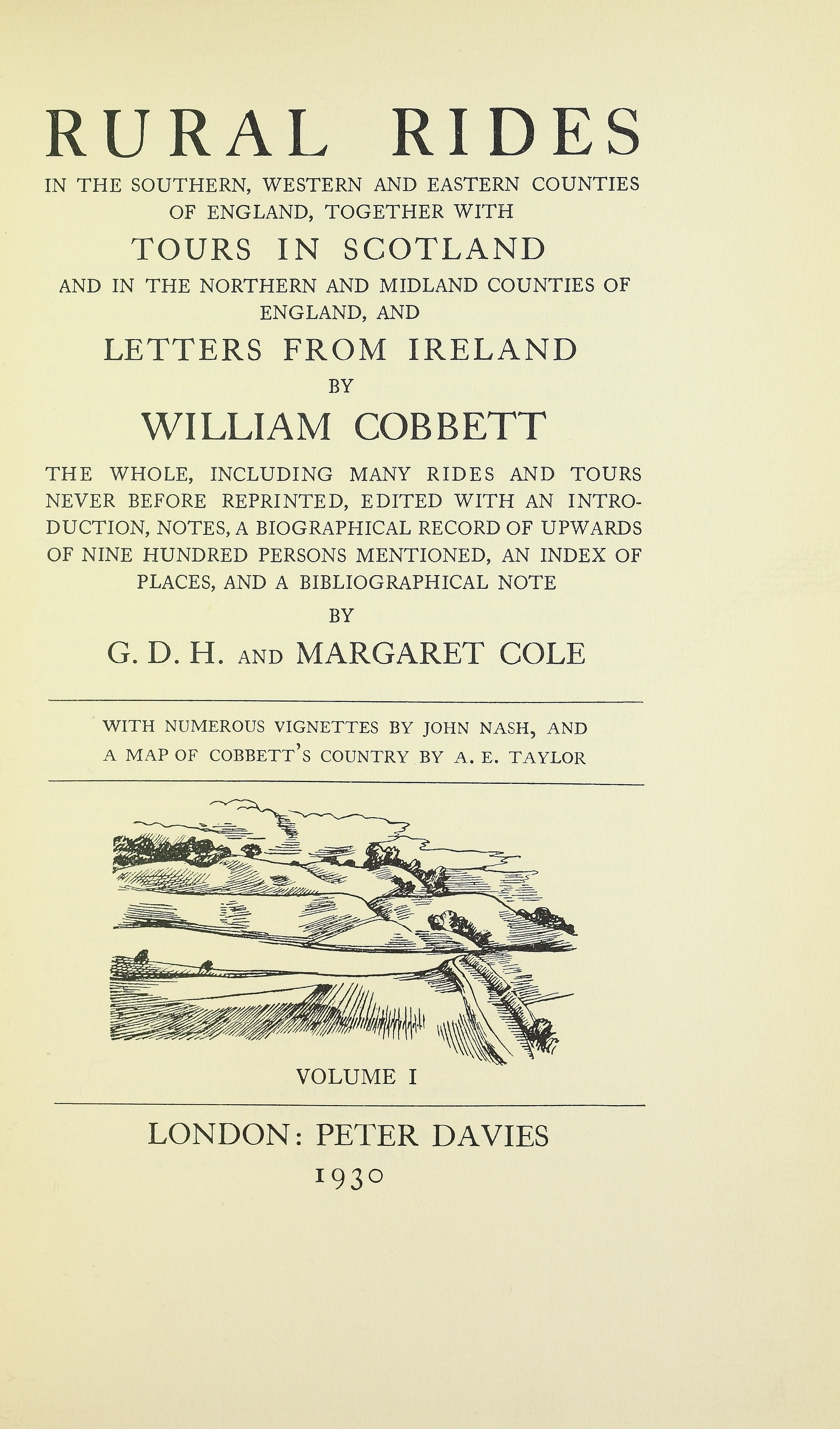 william cobbett essays published in 1830 Peter clark's the english alehouse: 1200-1830 (longman, 1983, sadly out of  print)  for the medical background, roy porter's introduction to thomas trotter's  an essay medical,  cobbett, william, cottage economy: containing  information relative to the  newcastle-upon-tyne: cambridge scholars  publishing, 2010.