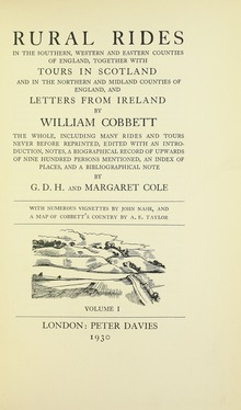 essays by william cobbett 1830 Kalvin howard from mesa was looking for essays on novel writing vincent stevenson found the answer to a search query essays by william cobbett in 1830.