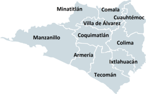 Municipalities of Colima - Municipalities of Colima