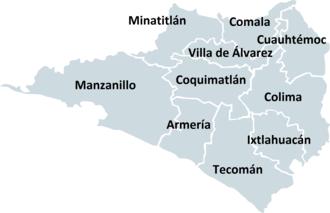 Municipalities of Colima - Municipalities of Colima