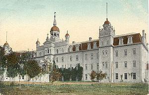 Université de Saint-Boniface - Collège, prior to the 1922 fire