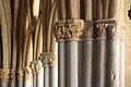 Colonnes Cloître de la cathédrale Notre-Dame de Bayonne.jpg