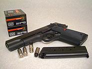 Colt Delta Elite with 10mm Auto ammunition