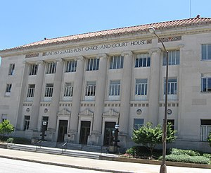 United States Post Office and Courthouse (Columbus, Georgia) - Image: Columbus, Georgia Post Office