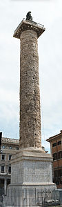 Column of Marcus Aurelius detailed view 04.jpg