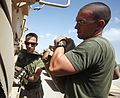 Combat engineer Marines conduct Transfer of Authority Ceremony in Afghanistan 140429-M-YZ032-183.jpg